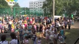 Юбилей села Шарапово были и подарки, был и салют