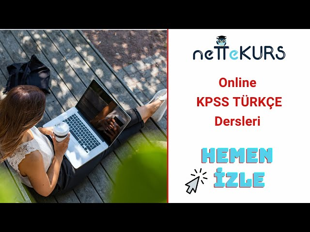 KPSS Türkçe - Dil Bilgisi Soru Çözümü / nettekurs.com Online KPSS Kursu