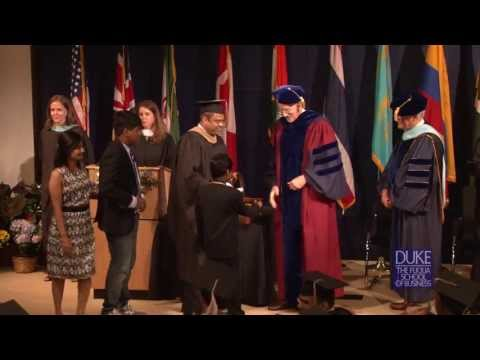 The Duke MBA - Global Executive Graduation 2013