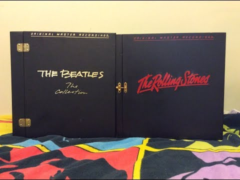 The Beatles & The Rolling Stones MFSL Audiophile Vinyl Box Sets