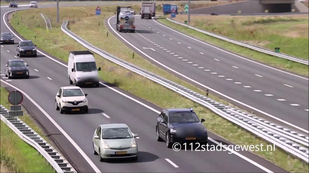 6X Arrestatieteam onderweg richting de Westerscheldetunnel