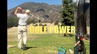 SECRET TO POWER IN THE GOLF SWING