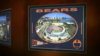 Shop Chicago Bears Players Prints & Posters, Sports Art, Memory Mats
