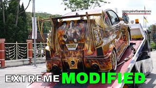 Towing Delivery of Extreme Modded Myvi | Galeri Kereta