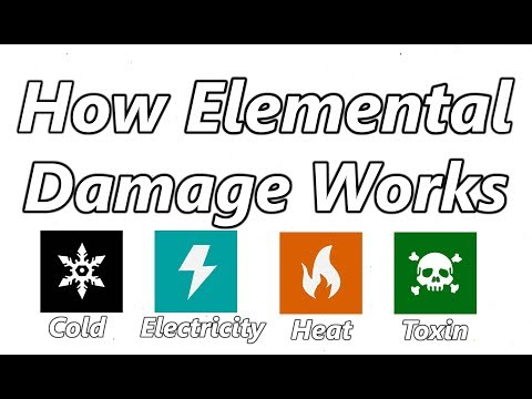 How Damage Works in Warframe #2: Primary Elemental Damage
