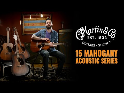 Martin 15 Series Mahogany Acoustic | 00-15M, 000-15M, D-15M, 000-15SM | CME Gear Demo