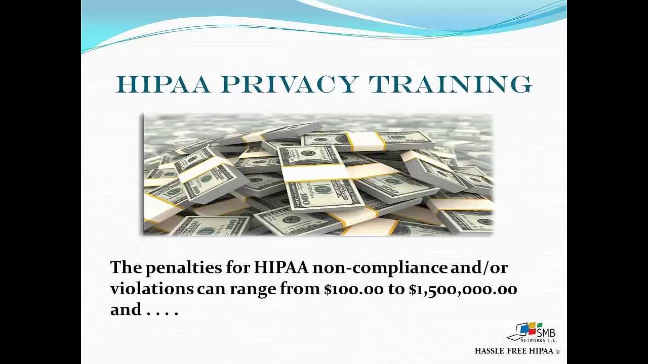 Hipaa Privacy Training Youtube
