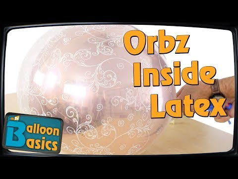 Put Orbz inside Latex Balloons with Chris Horne – Balloon Basics 35