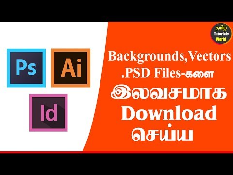 How to Download Free Stock PSD and Vectors, Backgrounds and More Tamil Tutorials World_HD
