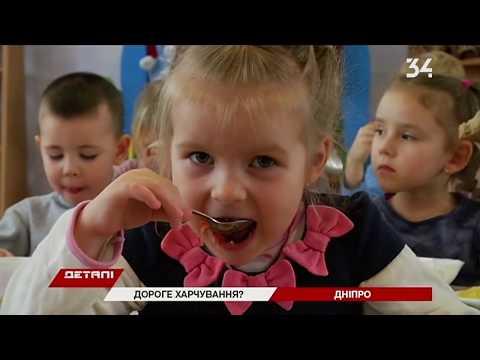 34 телеканал: Меню в детских садах Днепра планируют пересмотреть летом