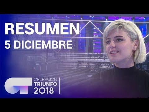 Resumen diario OT 2018 | 5 DICIEMBRE