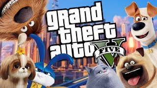 The NEW Secret Life of Pets 2 MOVIE MOD (GTA 5 PC Mods Gameplay)