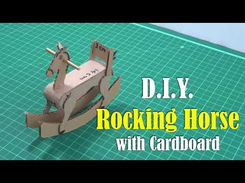 DIY: Rocking Horse with Cardboard