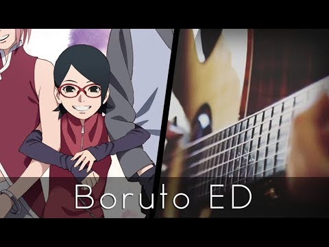 Sayonara Moon Town - Boruto ED 2 (Acoustic Guitar)【Tabs】