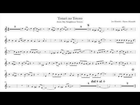 Tonari no Totoro - My Neighbour Totoro (sheet - spartito)