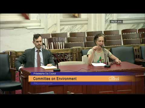 Committee on the Environment 5-24-2018
