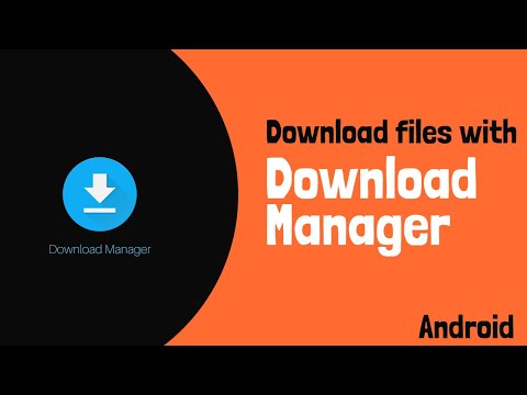Download Files With Android Download Manager || In-Built Download Manager || Android Studio Tutorial