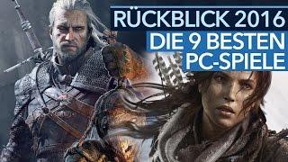 Die 9 besten PC-Spiele 2016 - Jahresrückblick von GameStar