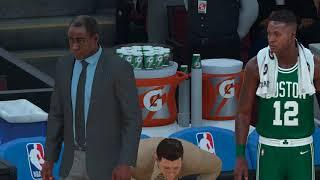 Gordon Hayward injury NBA 2k18