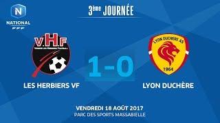 Les Herbiers vs Lyon la Duchère full match