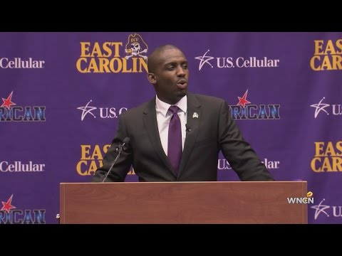 Montgomery eager to get started as new ECU coach