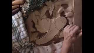 Deep Relief Wood Carving Demo, 3 Toed Sloth By Artist Scott Mcneill