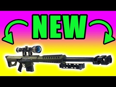 NEW Heavy Sniper Gameplay ⚠️ Fortnite Battle Royale PC Gameplay
