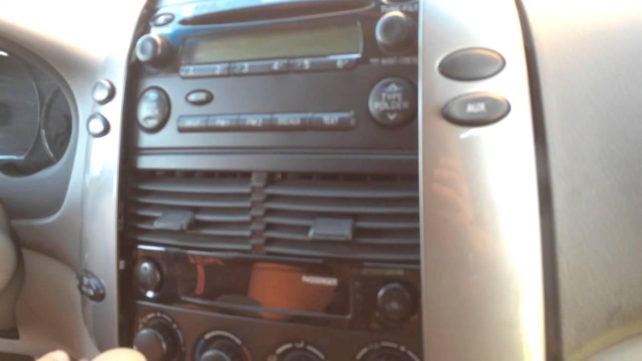 2004 Nissan Frontier Radio Wiring Diagram Haltech Installation Of Pioneer Fh X700bt Youtube