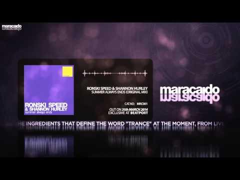 MRC001 - Ronski Speed & Shannon Hurley - Summer Always Ends