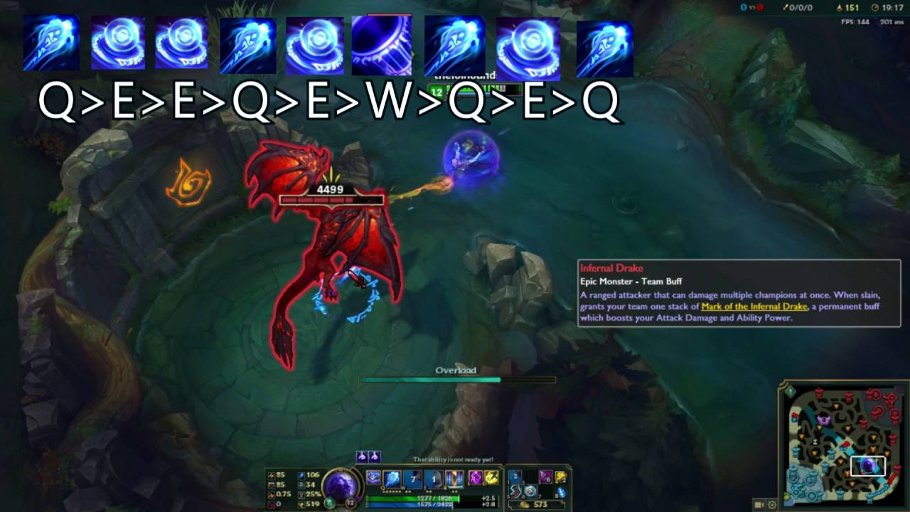 RYZE REWORK NEW SHIELD COMBO GUIDE (League of Legends PBE ...