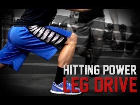 Baseball Hitting Power | Leg Drive | How To Hit Harder