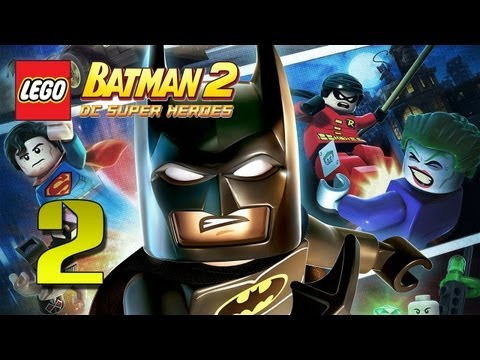 Father and Son Play: LEGO Batman 2  Playthrough pt 2
