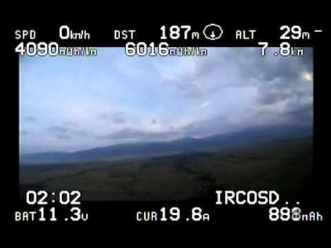 Walkera QR X350PRO Crash and Survive (Miracle)