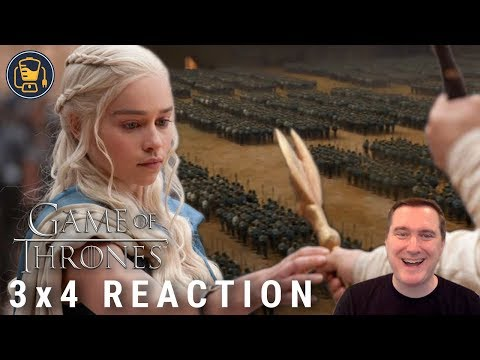 """Game Of Thrones Reaction   3x4 """"And Now His Watch Is Ended"""""""