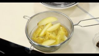 """Как нарезать картошку дольками для """"картофеля по-деревенски""""  от шеф-повара / Илья Лазерсон"""