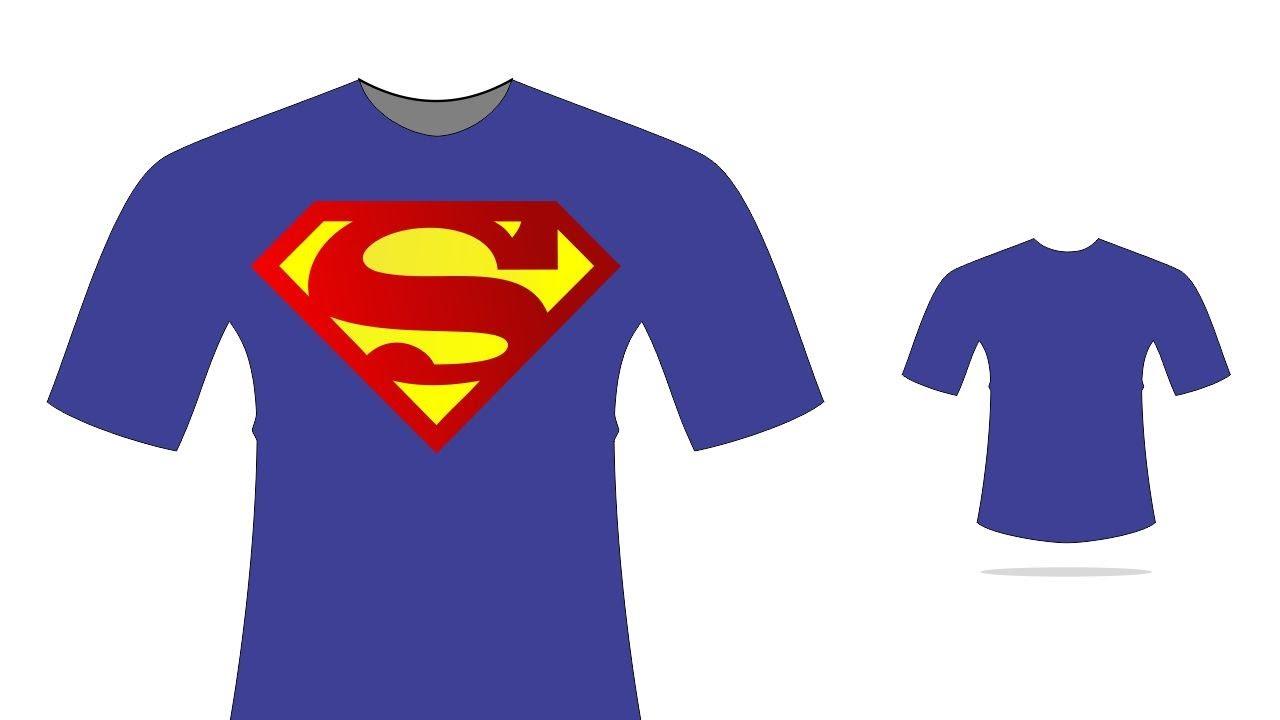 Como Criar Modelos De Camisas No Coreldraw Modelo Super Man 4 Edesign