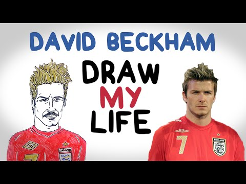 David Beckham | Draw My Life