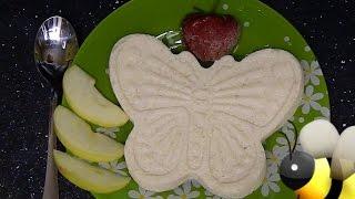 Полдник для ребёнка яблочная запеканка