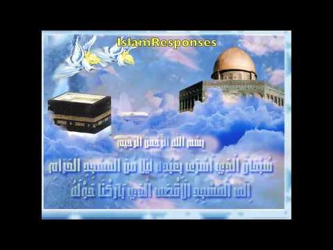Sirah17-Lessons from Al isra & Al miraj..The trip from Al aqsa to ...: https://www.youtube.com/watch?v=_vx8EZUUIJ4