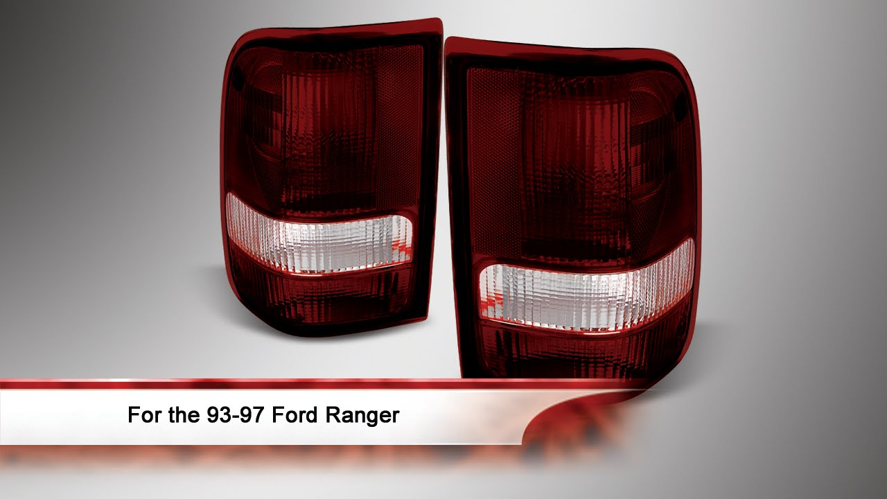 93 97 Ford Ranger Tail Lights