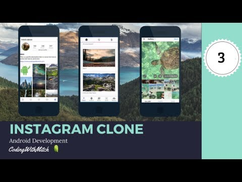 Customizing The BottomNavigationView (Part 3) - [Build An Instagram Clone]