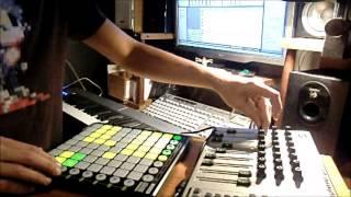 PharaOm - Oriental goa trance live set (ableton+midi instruments)