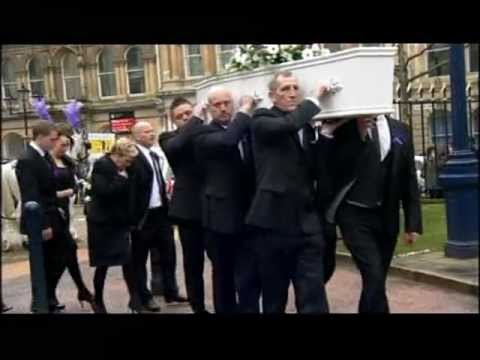 Birmingham: Christina Edkins bus stabbing - cathedral funeral held (BBC1 West Midlands)