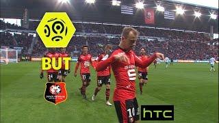 But Kamil GROSICKI (90' +2) / Stade Rennais FC - AS Saint-Etienne (2-0) -  / 2016-17