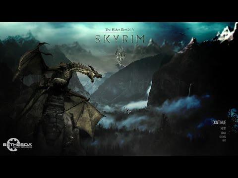 Skyrim Epic Main Menu Replacer Sound And Wallpaper
