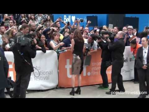 Shoes and Julianne Nicholson at TIFF