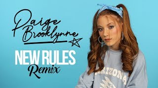 New Rules Remix (Cover) by Paige Brooklynne thumbnail