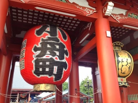 Japan Travel-A Day in Asakusa (Tokyo Japan)