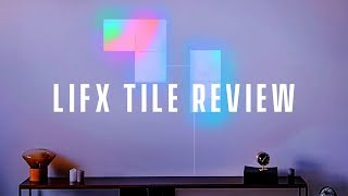 LIFX Tile Review (LED Wall Light) - Nanoleaf Aurora Competition?