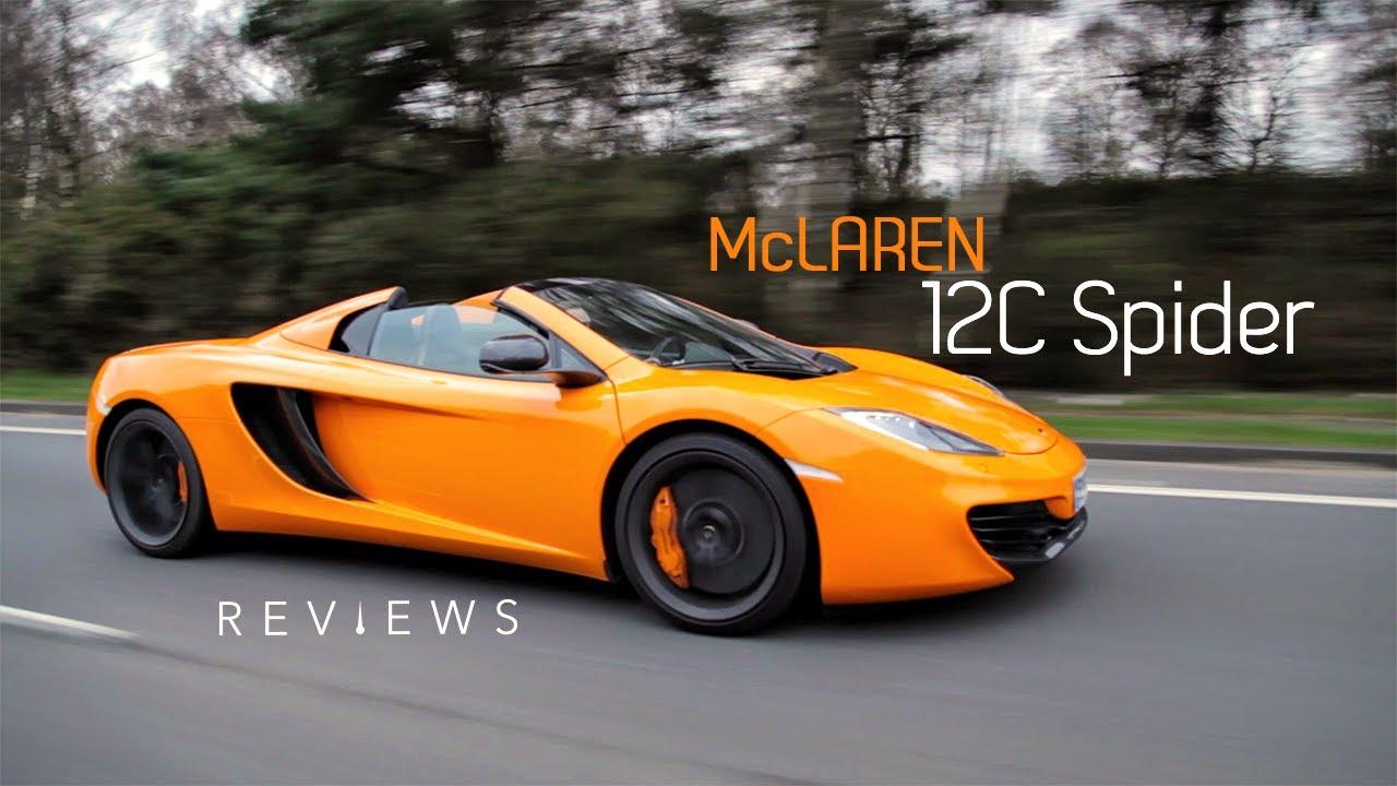 Why The Mclaren 12c Spider Is World S Friendliest Supercar